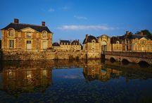 Les extérieurs / Photos extérieures du château de la Ferté Saint Aubin