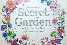 Secret Garden / My adult colouring from Johanna Basfords Secret Garden