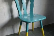 houten stoel pimpen