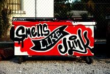 street art likes / random street art inspiration.  no particular place.  no particular artists unless noted. / by Daniel Tacker Originals