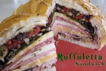 Soup and Sandwiches / Savory soups and delicious sandwich recipes.