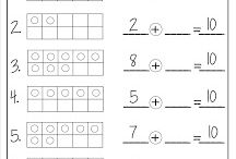 Addition and subtraction / Friends of ten