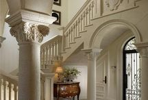 Grand Foyer / A collection of amazing home foyers to inspire you to create the grand entrance to your home!