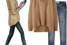 Things I need for the perfect fall into winter closet / Staples I need to purchase / by Genevieve Schrick