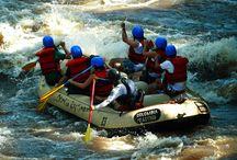 Rafting aventura total / Rafting en Santander Colombia