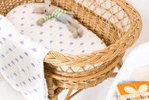 Head in the clouds   nursery ideas / Fabrics and products for a cloud inspired nursery