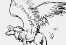 Sablonok rajzoláshoz (Farkasos)
