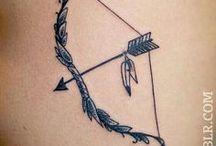 bow and arrow tatt