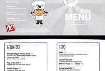 Doppio Zero Kiddie Menu / Snacks, treats and healthy meals for the little ones.
