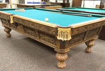Antique Pool Tables / Antique Pool Tables