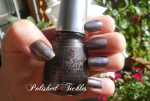 China Glaze Swatches / Please note all swatches within this album belong solely to their respective owners as per watermark or original posting via their blogs.