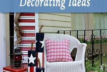 fourth of July decorations / by Kathy Bailey