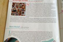 Publications dans les magasines - Press Book / Mes apparitions (ou mes modèles !) dans les magasines