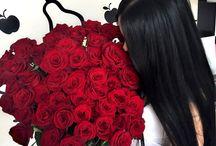 دچتر با گل سرخ