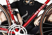 Fashion loves bikes / Fashion editorials following the trend of Bikes  / by Selina Paisley