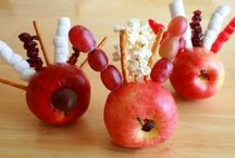 Fun Snacks  / Cute Snacks, some healthy and some not so much!  / by Jennifer Waller
