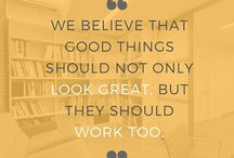 Forster Inc Design | Wednesday Wisdom / Design quotes, design inspiration and words encouraging great, well-thought-of design