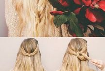 hair - simple ways