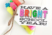 Start of school gifts