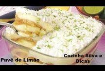pave bolo de limão / Sabores