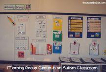 Autism Class Layout / by Jana O'Neill