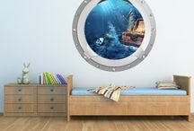 Porthole Wall Stickers / by Icon Wall Stickers