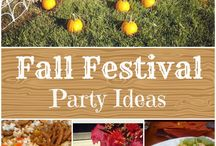 Fall Festival/Birthday Carnival / Lots of family birthdays in October....let's plan a fall birthday event!!!