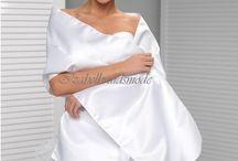 Bruids stola/Bruids cape / Bruids stola, bruids sjaals, bruids cape, poncho bij bruidsjurk