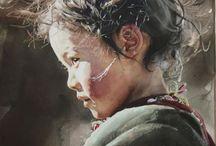 Современная живопись. Портрет.