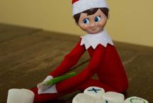 Elf on the shelf this year ⛄️ / by Candace Hintz