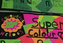 Colourful Heroes / Super cool Handmade products! (Ashley & Liza)