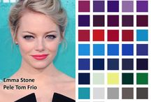 Paleta cores/Tons de pele fria