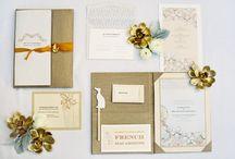 Beautiful Invitations / by Megan Ward