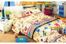 Pestré detské obliečky na posteľ / Pestré obliečky na posteľ s rozprávkovými a inými detskými motívmi