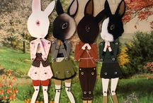 Scissors Cut Out / Paper Dolls