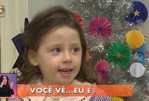 """Você na TV - TVI """"O que é o Natal?"""" / As alunas e os Alunos do Real Colégio de Portugal, participaram hoje no programa Você na TV, da TVI. O tema era o NATAL!!"""