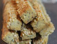 Tuzlu kurabiye-atistirmalik
