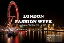 London Fashion Week Autumn winter 14-15 / Trend Report