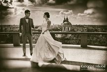Prague wedding photo shoot / Wedding photo shoot in Prague - most iconic places of Prague in your wedding photos, unforgettable experience. Book professional wedding photographer George Hlobil for your wedding photo shoot in Prague.