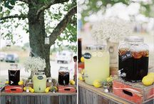 Inspiration: Drinks for your wedding.