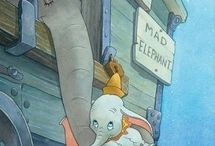 "Favorite Walt Disney Movie ""Dumbo"" / by Valerie Lawson Janney"