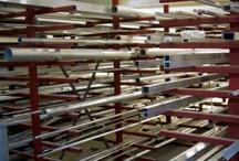 Aluminium produkten die wij aanbieden / Een selectie uit ons aanbod aluminium profielen en platen