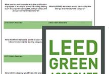 LEED Green Associate Flash Cards! / 400 LEED Green Associate flash cards Printable PDF and online format Instant Access