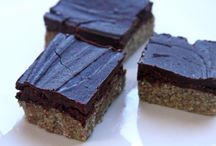 Raw Food: Desserts - Cookies, Bars & Brownies / Vegan cookies, bars and brownies with ingredients prepared at temperatures under 130 degrees.