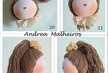 cabelo para boneca