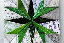 šití přes papír 2