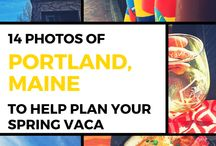 Maine / Maine: rocky beaches, fresh lobster, big city food and nightlife in Portland, and plenty to keep you busy on a vacation during any season.