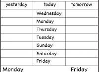 AJ days of the week