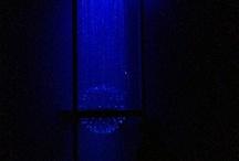 Erik's latest custom fiber optic chandelier / Fiber Optic Lighting,Lighting, Chandeliers, pendants, modern lighting, awesome