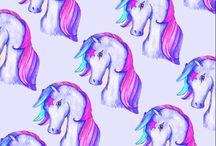 ponys,unicornios etc